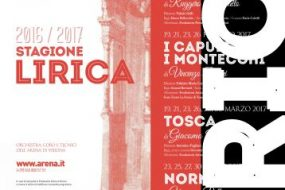 La stagione lirica e sinfonica 2016/2017 del Teatro Filarmonico di Verona