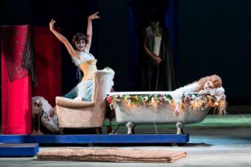 "Reggio Emilia, Teatro Valli: "" A midsummer night's dream"""
