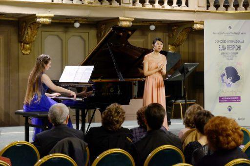 Yukiko SHIMIZU, soprano (Giappone) Elisa BORDIN, pianoforte,