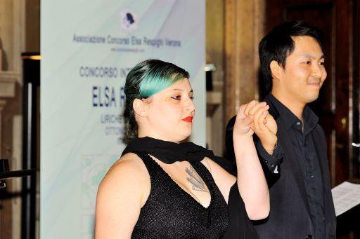 Jaemin KIM, tenore (Corea) Roberta PANDOLFI, pianoforte