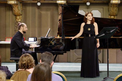 Paola CAMPONOVO, soprano Alfredo BLESSANO, pianoforte