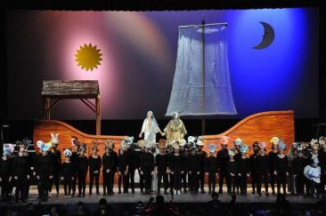 """""""Noye's fludde"""" di Britten al Teatro Comunale di Sassari"""