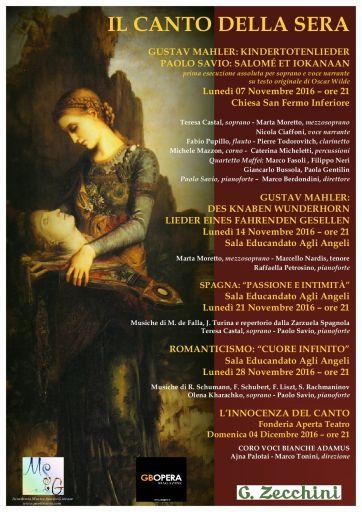 """Verona, i concerti de """"Il canto della sera"""""""