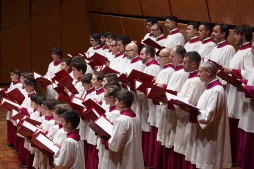 Roma, Accademia Nazionale di Santa Cecilia: Concerto del Coro della Cappella Sistina
