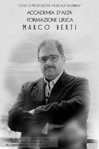 """Accademia d'alta formazione lirica """"Maria Malibran"""" di Napoli: Master class del tenore Marco Berti"""