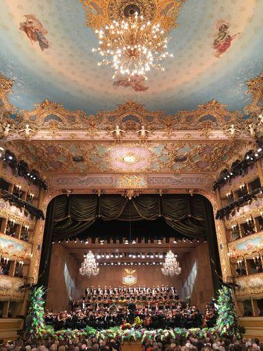 Venezia, Teatro La Fenice: Concerto di Capodanno 2016-17