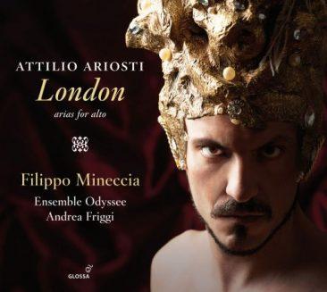 Filippo Mineccia interpreta Attilio Ariosti e Niccolò Jommelli