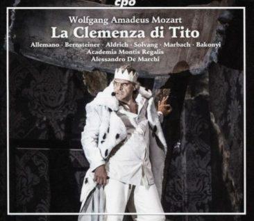 "Wolfgang Amadeus Mozart (1756 – 1781). ""La clemenza di Tito"" (versione 1804)"