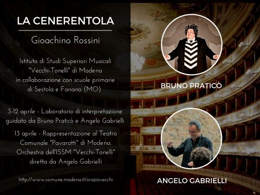 """Modena: Selezione per copertura ruoli per """"La Cenerentola"""" di Rossini"""