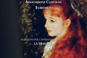 """Rovereto, Progetto Opera 2017: audizioni per la messa in scena de """"La Traviata"""""""