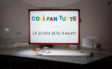"""Roma, Teatro dell'Opera: """"Così fan tutte"""""""