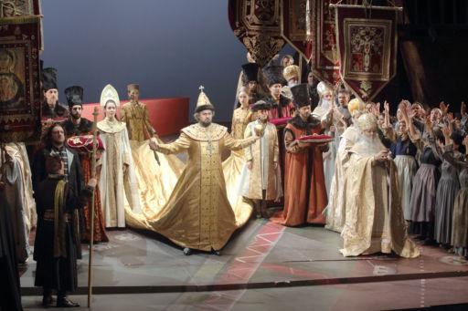 """Marseille, Opéra Municipal: """"Boris Godounov"""""""