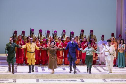 """Ferrara, Teatro Comunale: """"Die Entführung aus dem Serail"""""""