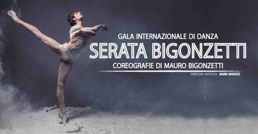 """""""Serata Bigonzetti"""" al Brancaccio di Roma"""