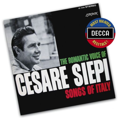 "Cesare Siepi (1923-2010): ""The Romantic voice of Cesare Siepi"". ""Songs of Italy ""- ""Easy to Love"""
