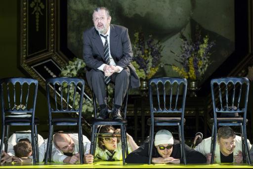 """Berlino, Deutsche Oper: """"Death in Venice"""""""