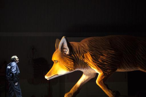 """Bruxelles, Théâtre La Monnaie: """"Foxie!"""" (La piccola volpe astuta)"""