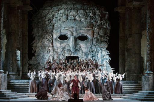 """New York, Metropolitan Opera: """"Idomeneo"""""""