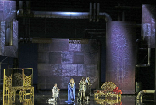 """Torino, Teatro Regio:  """"L'incoronazione di Dario"""" RV719"""