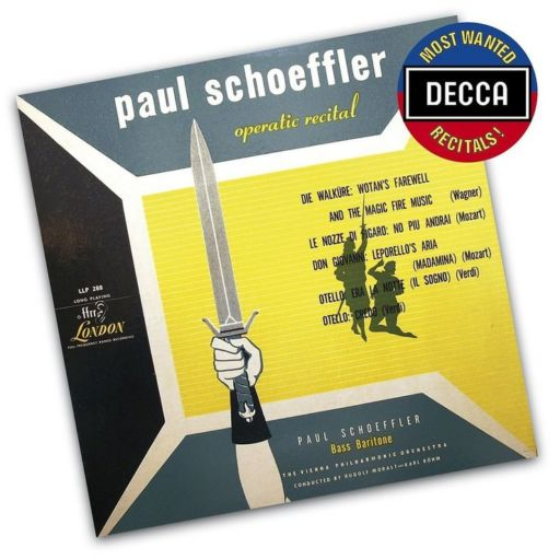 Paul Schoeffler (1897-1977): Operatic recital