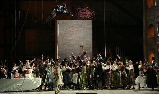 """Milano, Teatro alla Scala: """"La gazza ladra"""""""