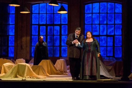 """New York, Metropolitan Opera: """"Der Fliegende Holländer"""""""