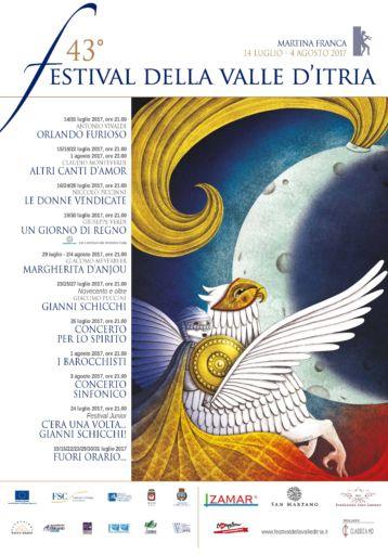 Presentata  la 43ª edizione del Festival della Valle d'Itria  in memoria dello storico direttore artistico Rodolfo Celletti nel centenario della nascita