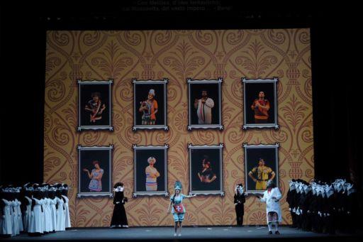 """Verona, Teatro Filarmonico: """"Il viaggio a Reims"""""""