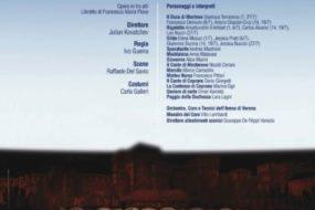 """Arena di Verona 2017: Dall'1 al 27 luglio va in scena""""Rigoletto"""""""