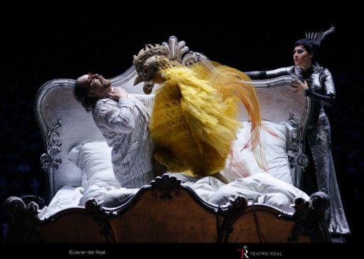 """""""Il gallo d'oro"""" al Teatro Real di Madrid"""