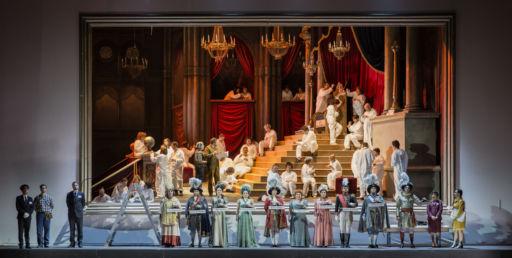 """Roma, Teatro dell'Opera: """"Il viaggio a Reims"""""""