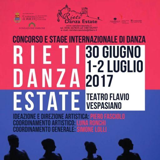 Rieti Danza Estate 2017 con GBopera Magazine