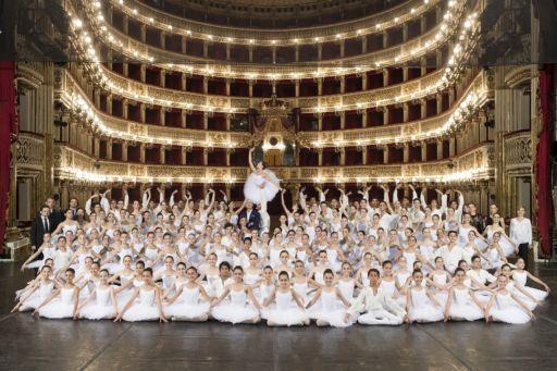 Il 24 giugno in scena la Scuola di Ballo del San Carlo di Napoli