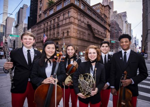 La National Youth Orchestra of USA alla Carnegie Hall di New York