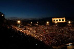 Gala IX Sinfonia di Beethoven all'Arena di Verona per il 95° Opera Festival