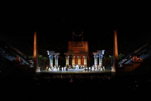 "Verona, 95° Arena Opera Festival: ""Aida"""