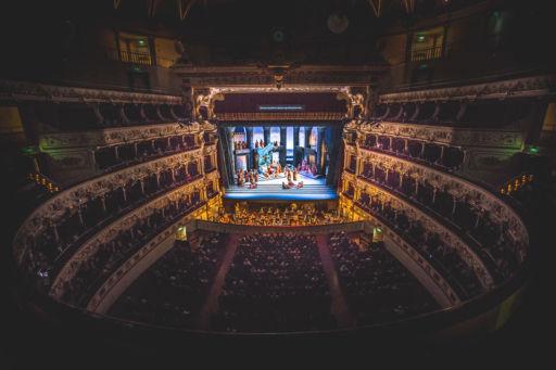 "Bari, Teatro Petruzzelli: ""Aida"""