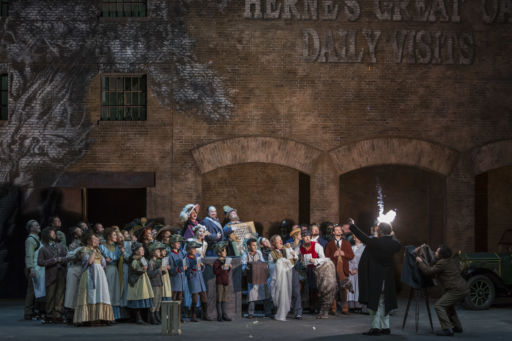 "Paris, Opéra Bastille: ""Falstaff"""