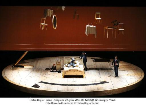 """Torino, Teatro Regio: """"Falstaff"""""""