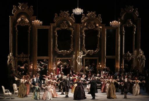 """""""Andrea Chénier"""" al Teatro alla Scala di Milano"""