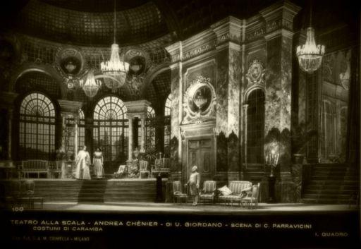 Umberto Giordano 150 (1867 – 1948): Andrea Chénier (1896)