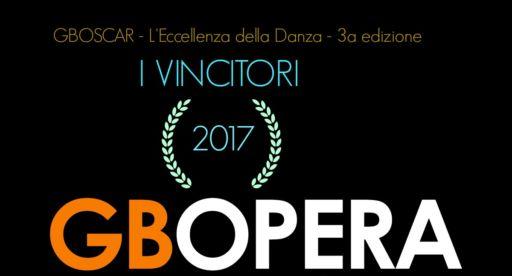 """""""GBOscar"""" 2017. L'Eccellenza della Danza."""