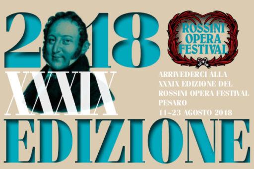Ecco il programma 2018 del Rossini Opera Festival