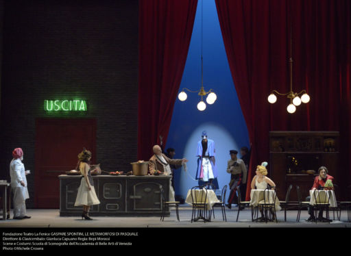 """Venezia, Teatro Malibran: tornano in laguna (dopo più di due secoli) """"Le metamorfosi di Pasquale"""" di Spontini"""