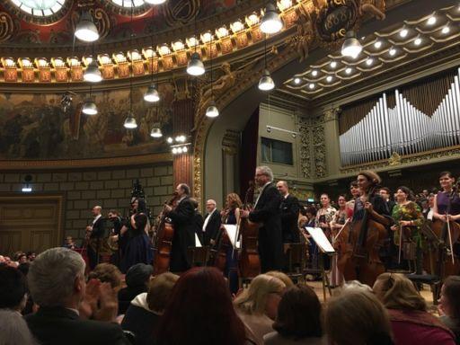 """La Filarmonica """"George Enescu"""" all'Atheneul Roman di Bucarest"""