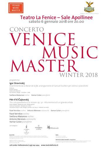 Venezia, Teatro La Fenice: Concerto Venice Music Master, Winter 2018
