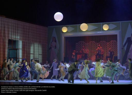 "Venezia, Teatro La Fenice: ""Die lustige witwe"""