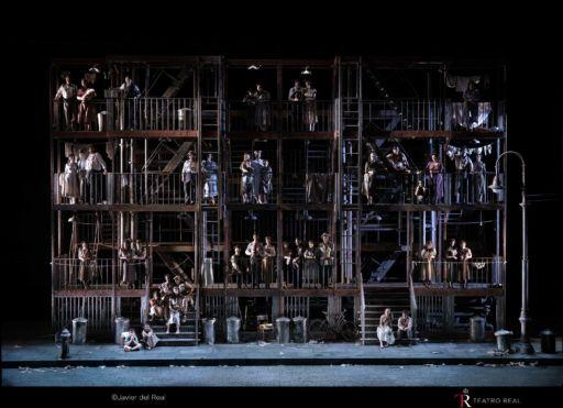 """""""Street scene"""" di Kurt Weill al Teatro Real di Madrid"""