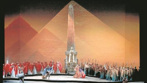 """Aida"" al Teatro Real di Madrid"