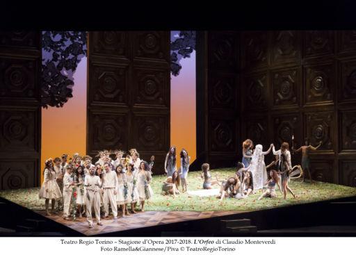 """Torino, Teatro Regio: """"L'Orfeo"""""""